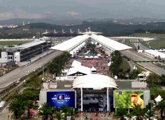 VN MALEZIJE Sepang International Circuit 29.09. do 01.10.2017