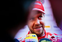 Vettel (foto: facebook.com/ScuderiaFerrari)